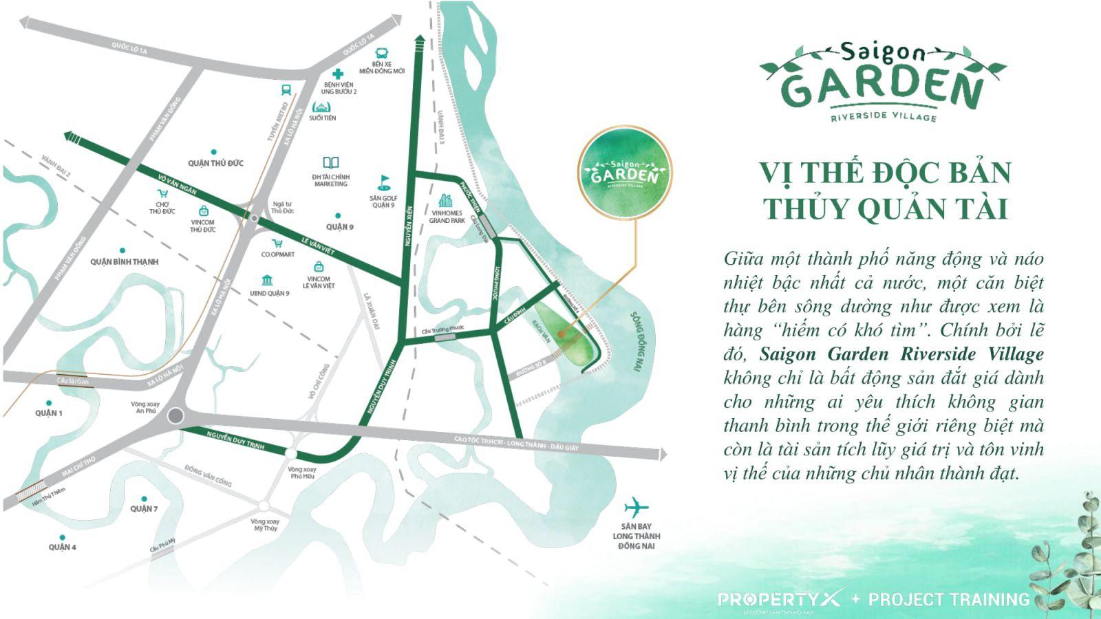 Saigon Garden Riverside Vilage